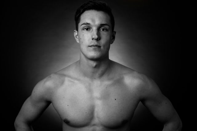 muscular man dominik franke interview