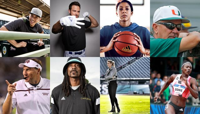 famous athletes and stars through sport we have the power to change lives