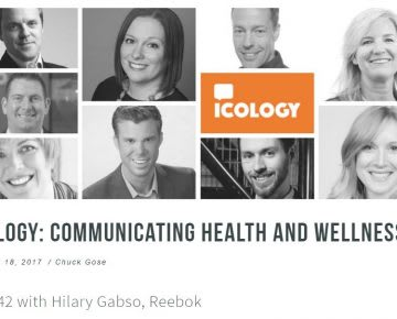 podcast communicating health and wellness