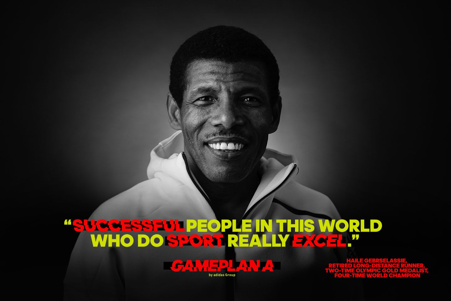 haile gebrselassie distance runner quote