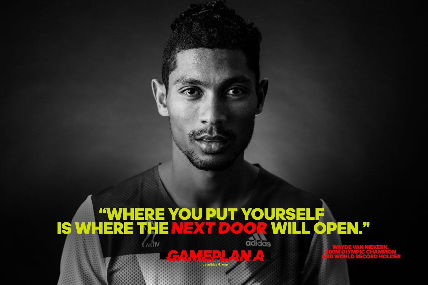 wayde van niekerk olympic champion quote