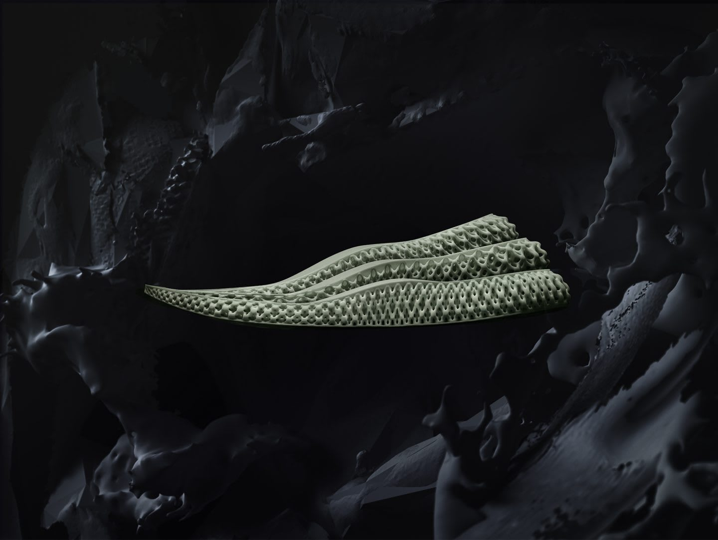 FUTURECRAFT4D PRODUCT 3 MIDSOLES