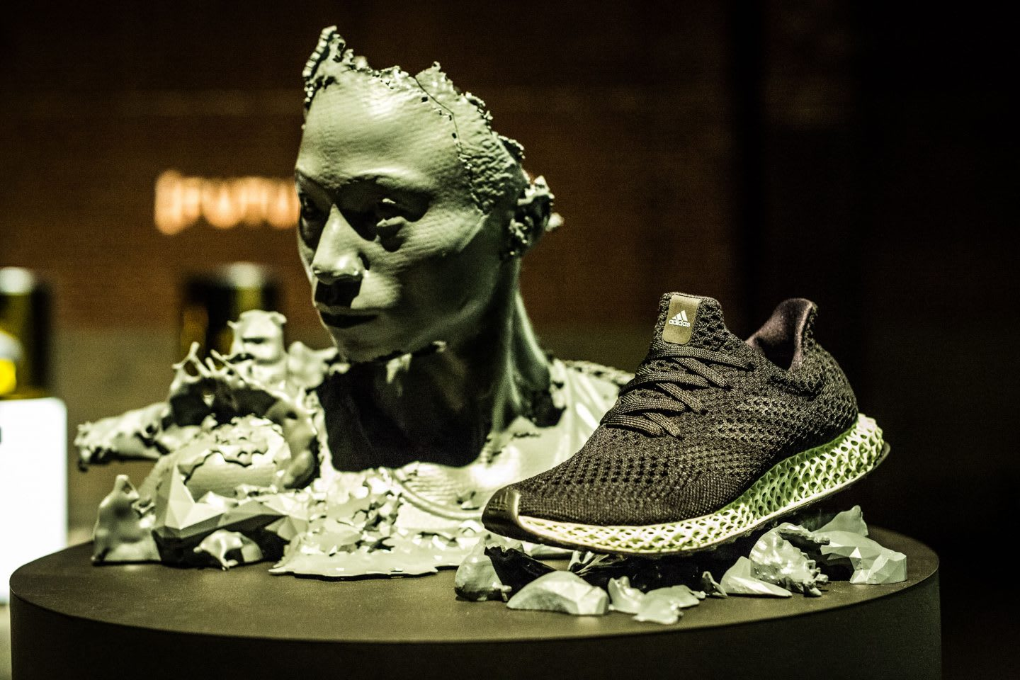 Futurecraft 4D Tori Bowie Shoe Face