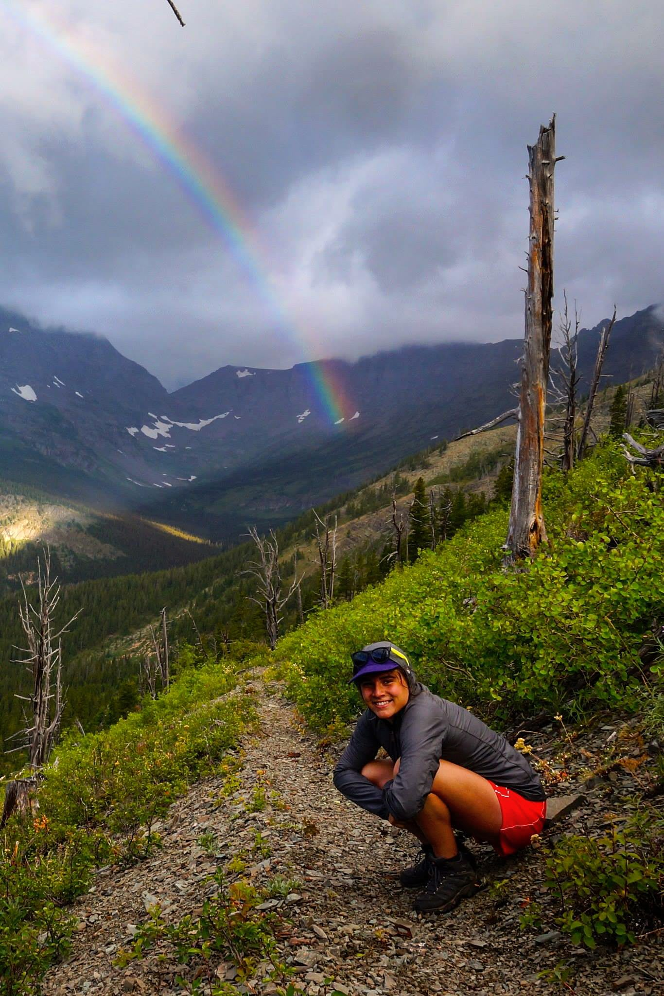 Glacier National Park USA Rainbow Hannah Sellers
