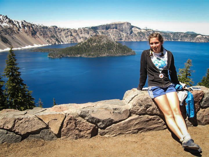 Crater Lake National Park Panorama
