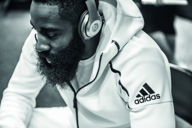 James Harden Beats by Dre Music ZNE hoodie