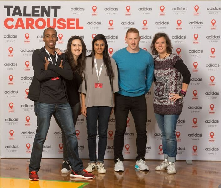 adidas employees talent carousel
