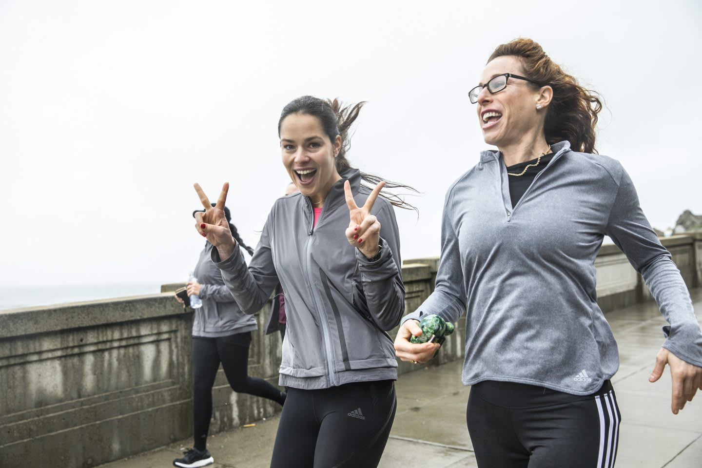 Ana-Ivanovic-enjoys-running-with-friends-ultraBoost-X interview listen to your heart