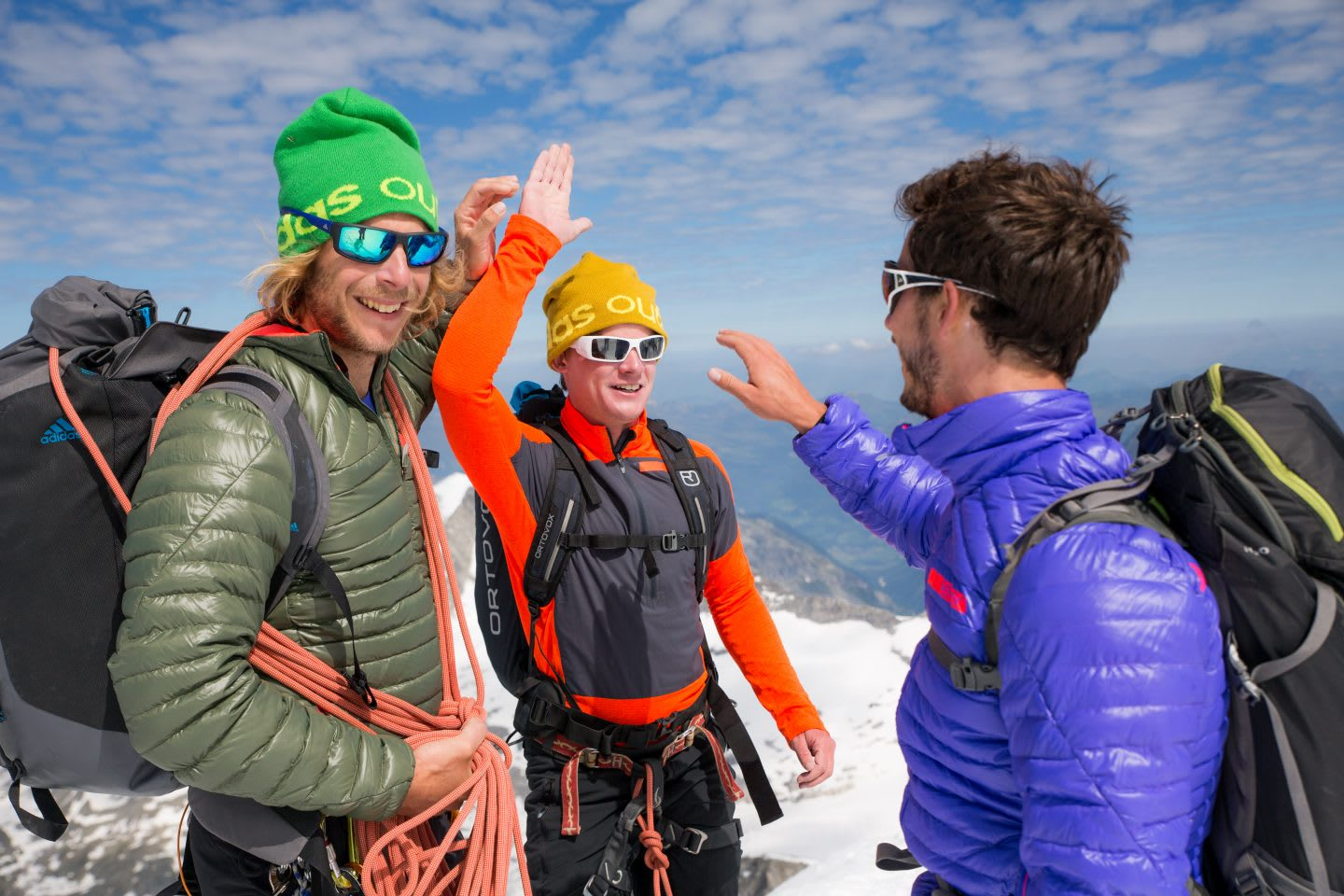 mountaineers-happy-high-five-hiking-mountains-alps-terrex-mountain project