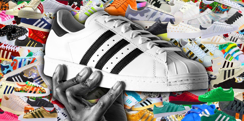 Adidas SUPERSTAR 2 PLATFORM UP EF Weiss Schwarz Damen
