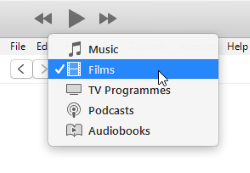 iTunes Library - Films Group