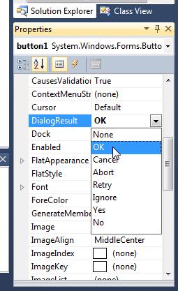Visual Studio Properties Window
