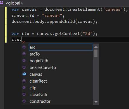 Visual Studio IntelliSense Canvas Context Detection Problem - Solution 2