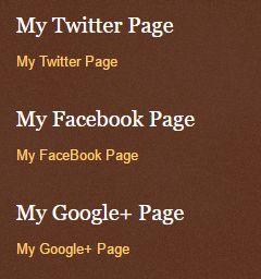 blogger sidebar pages gadget on desktop