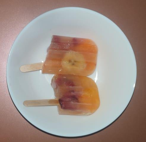 Polos de fruta natural