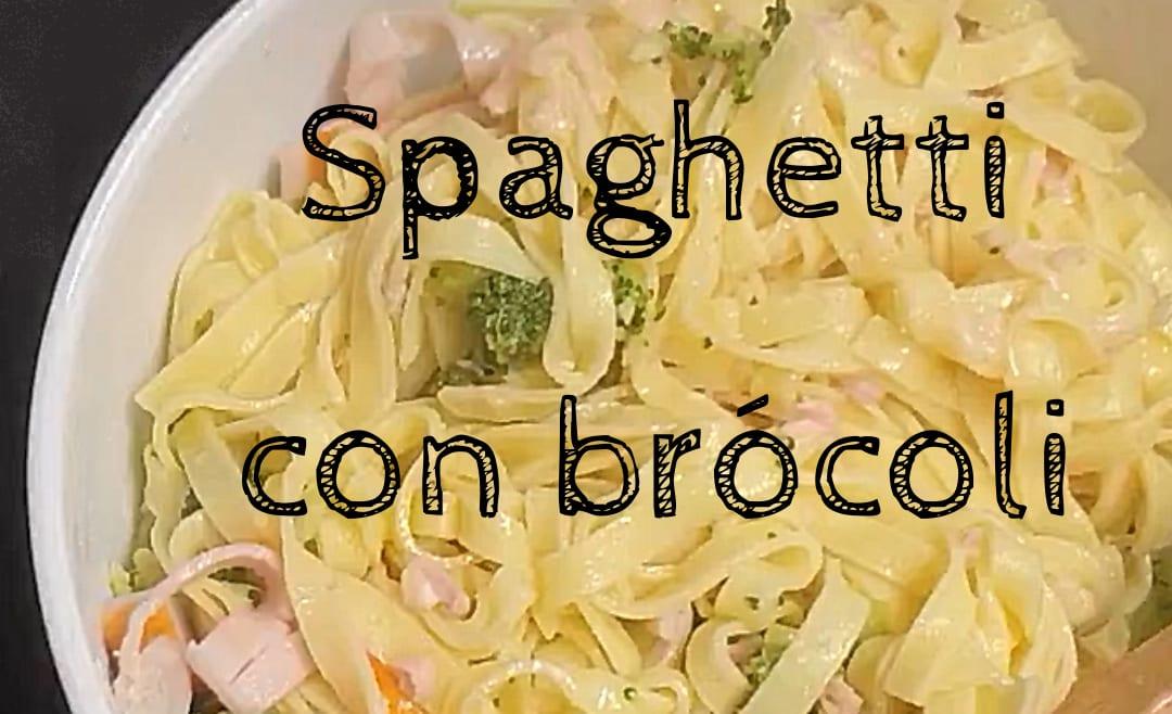 Receta de spaghetti con brócoli