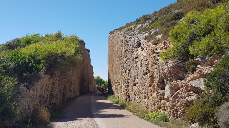 Paseo por la Vía Verde del Mar (Oropesa – Benicàssim)