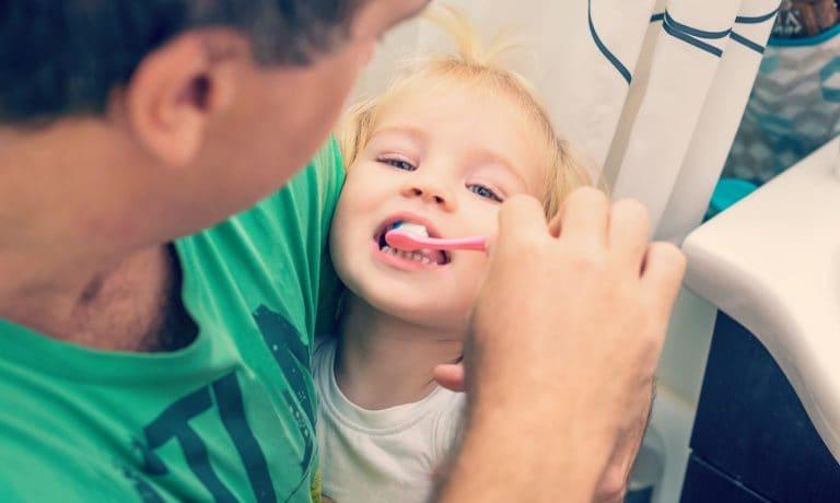 ¡Hora de lavarse los dientes!!!
