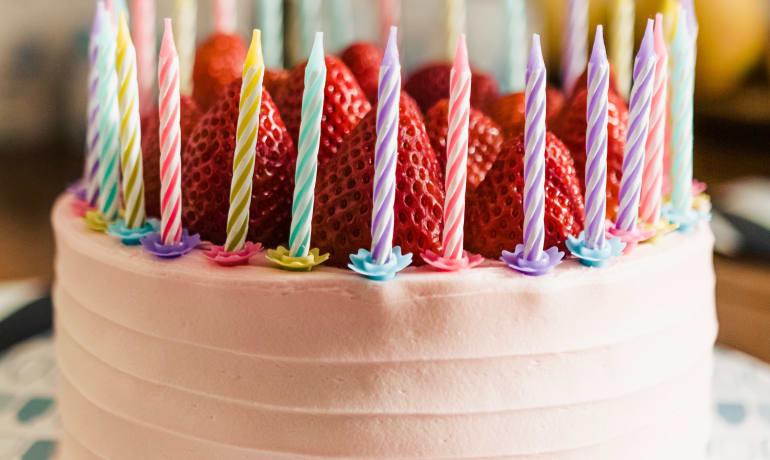 Cumpleaños dulce Y saludable