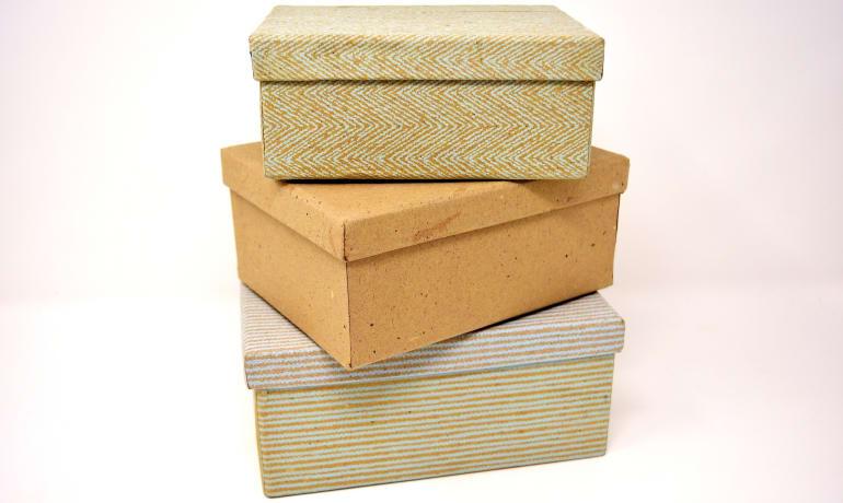 ¿Cómo transformar una caja de cartón?