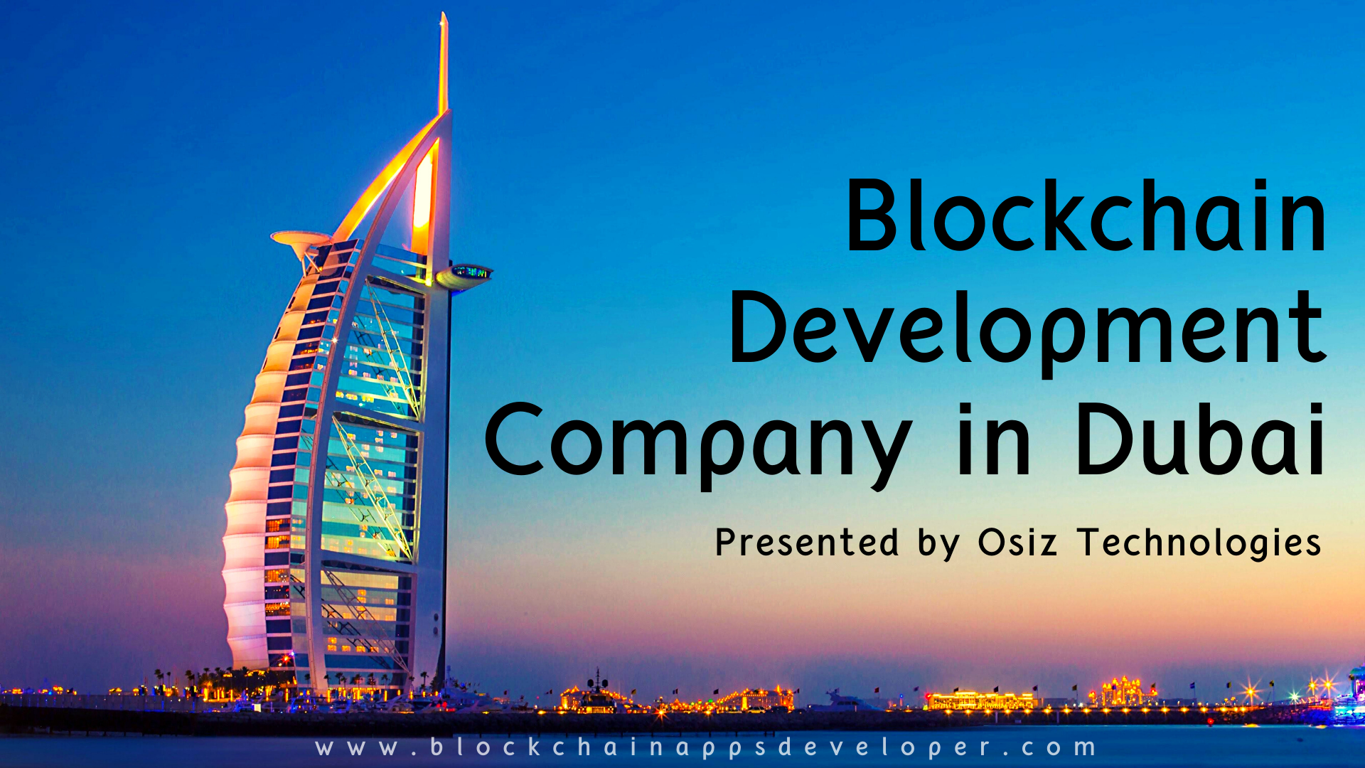 Blockchain Development Company in Dubai, UAE