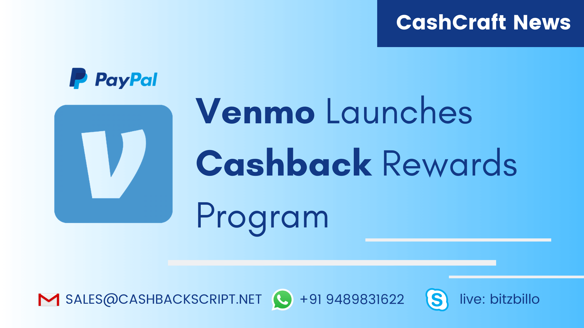 Venmo Launches Cashback Rewards Program