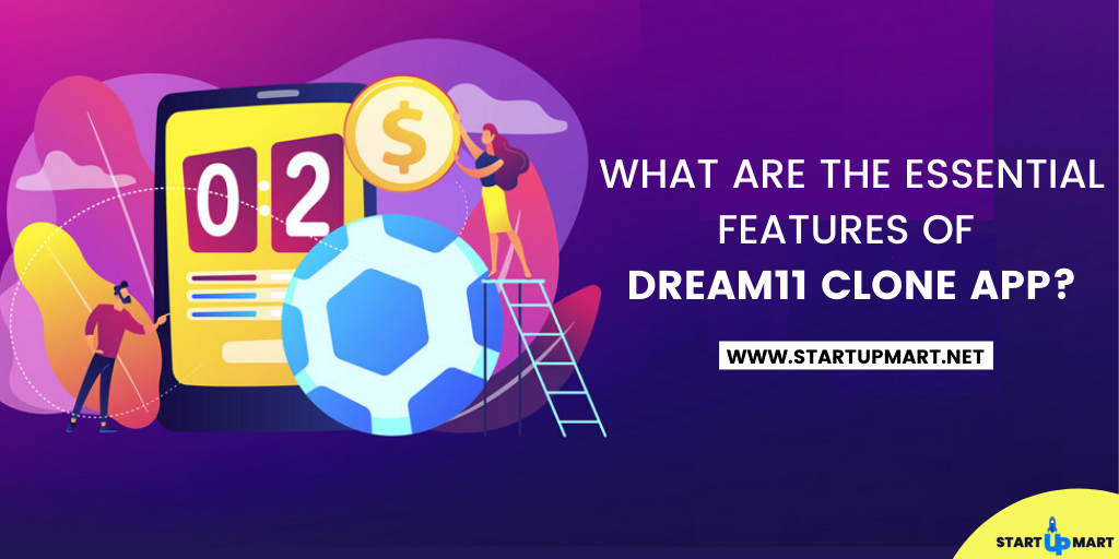 What are the Essential Features of the Dream11 Clone App?