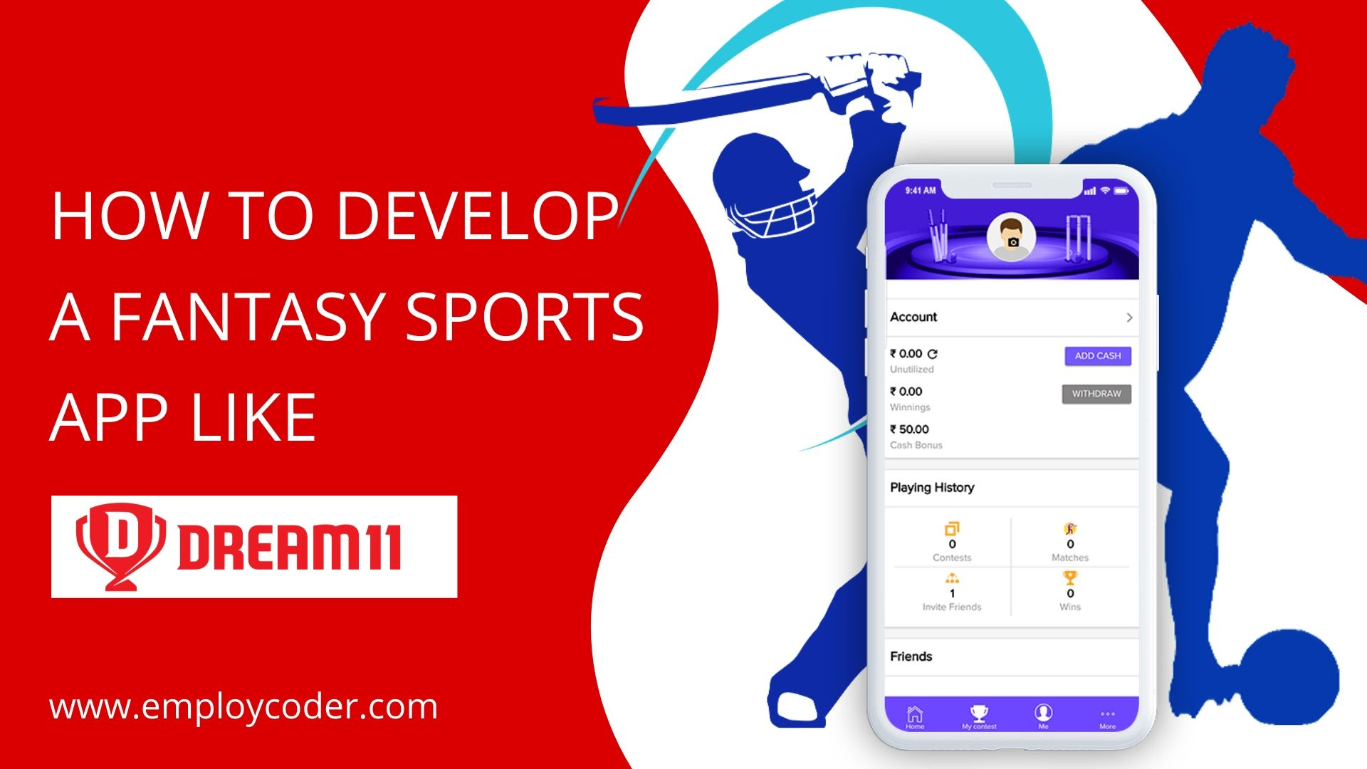 Dream11 Clone App - Start your own Fantasy Sports App