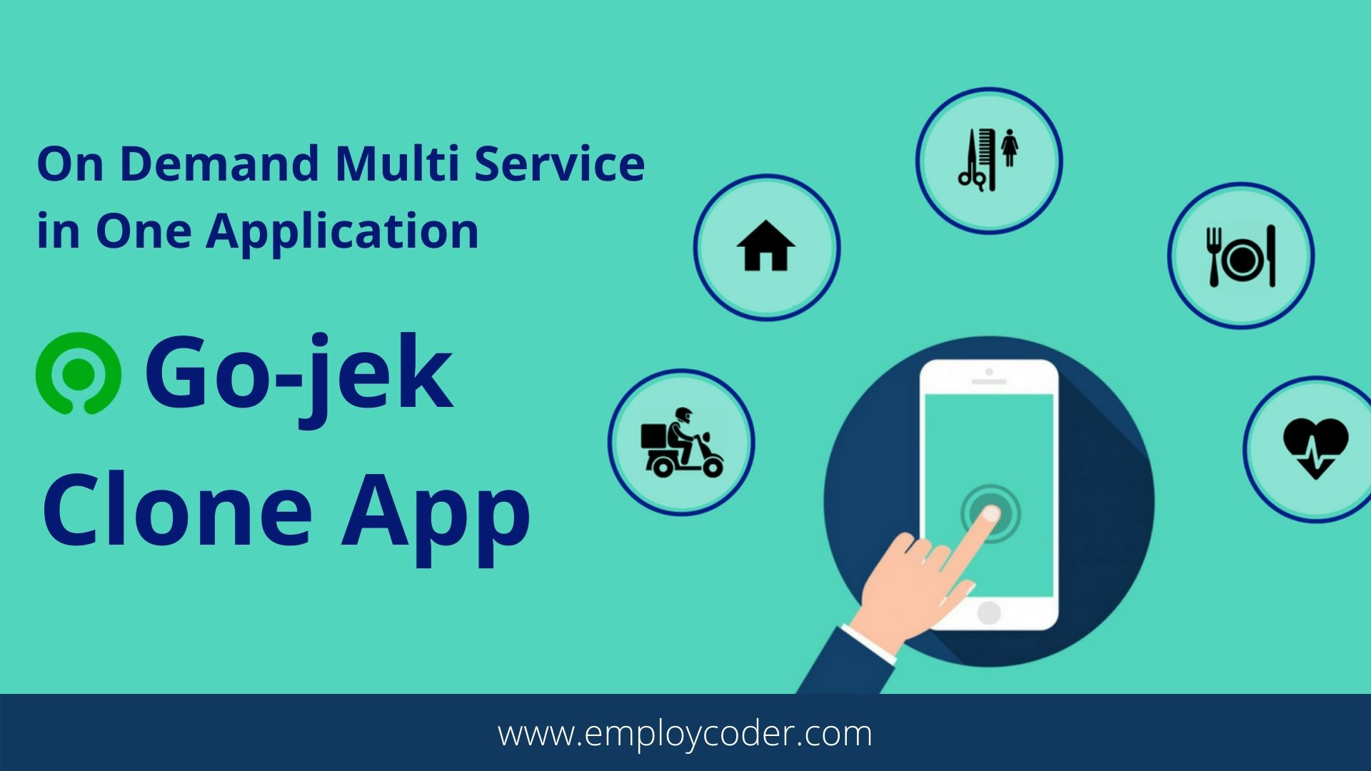 Gojek Clone App - Start Your Own On-Demand Multi Service Application