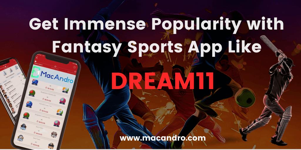 Dream11 Clone App Development - Build your Own Fantasy Sports App