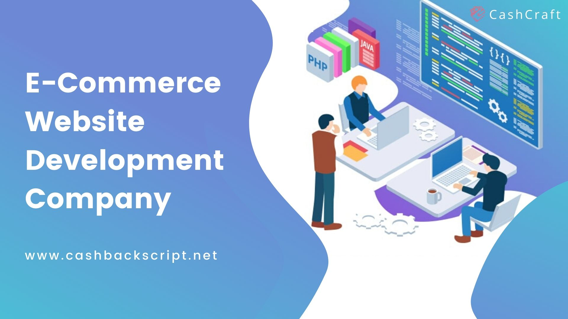 Ecommerce Website Development Company | CashCraft