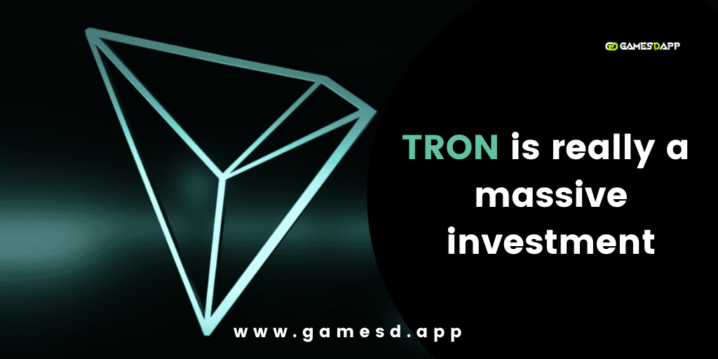 TRON dapp is really a massive investment