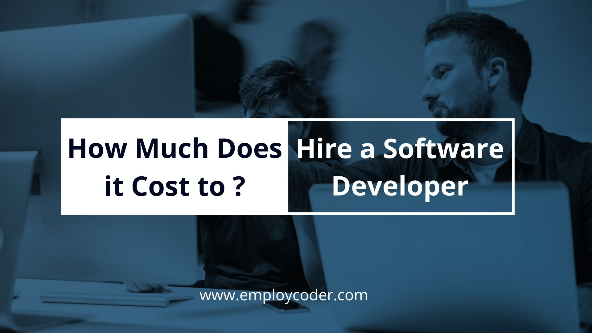 How Much Does it Cost to Hire a Software Developer?