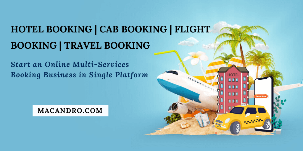 Start an Online Multi-Services Booking Business in Single Platform