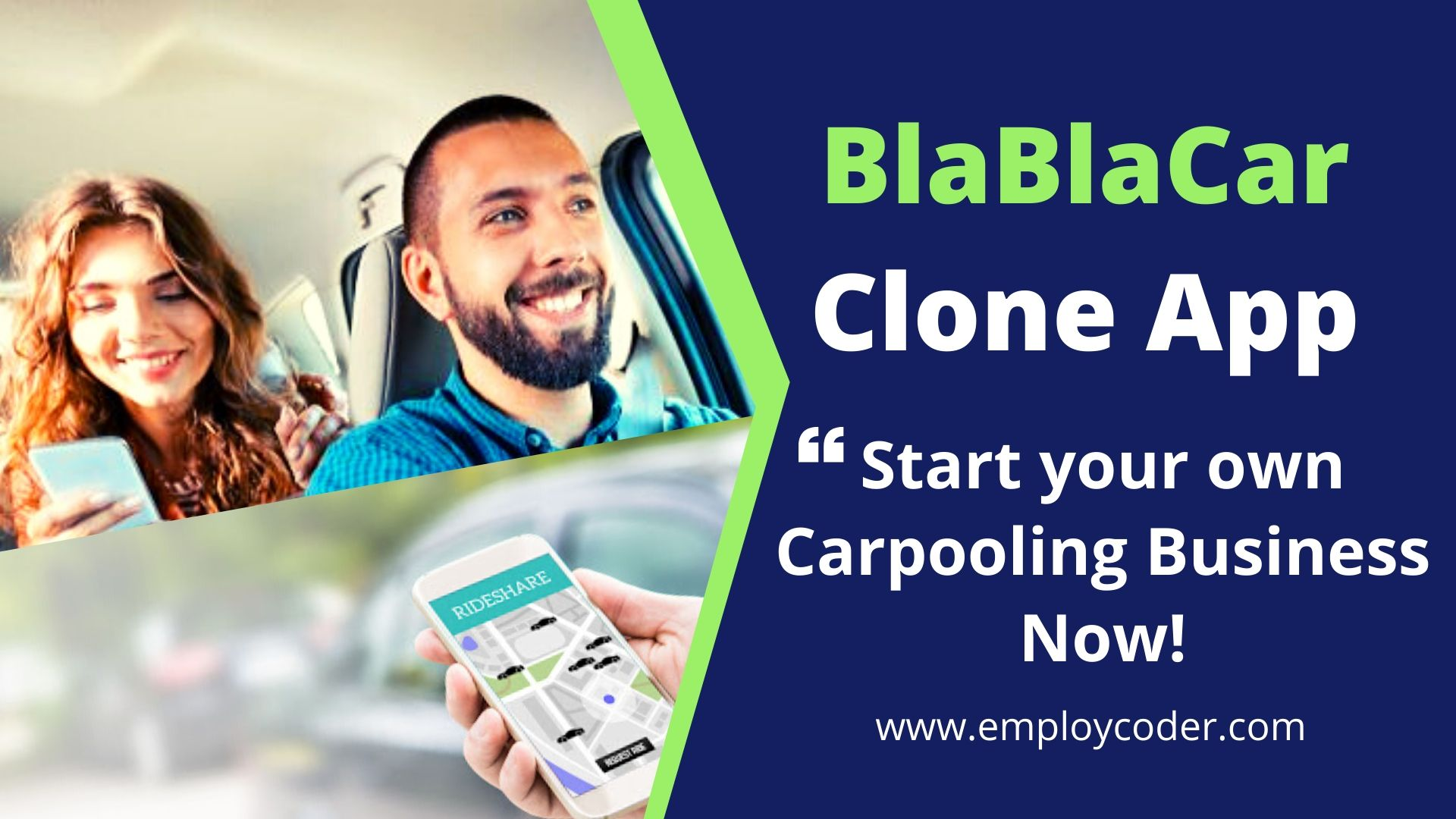 BlaBlaCar Clone App - Start a Ride Sharing App like BlaBlaCar