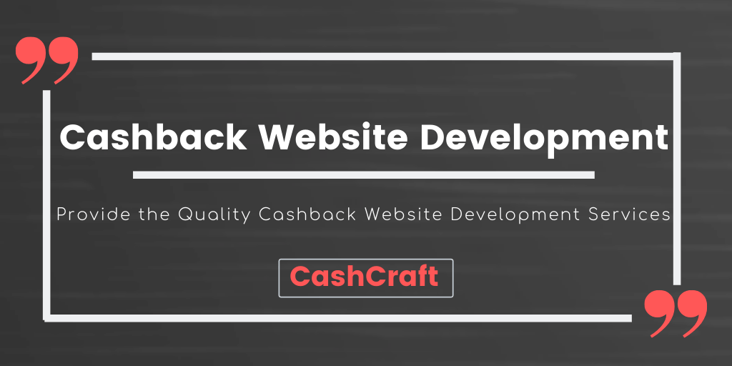 The Best Cashback Website Development Company - CashCraft
