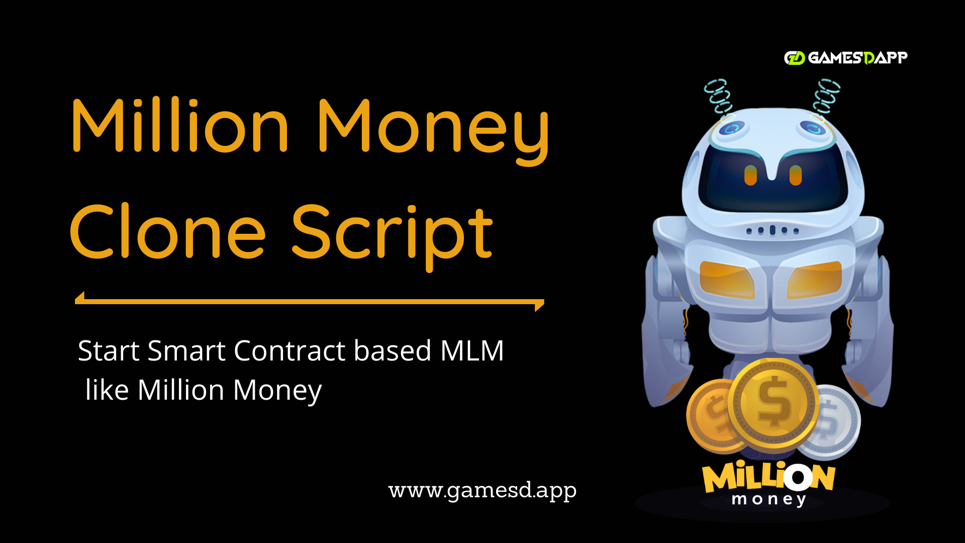 Million Money Clone Script - To Start Smart Contract Based MLM Like Million Money