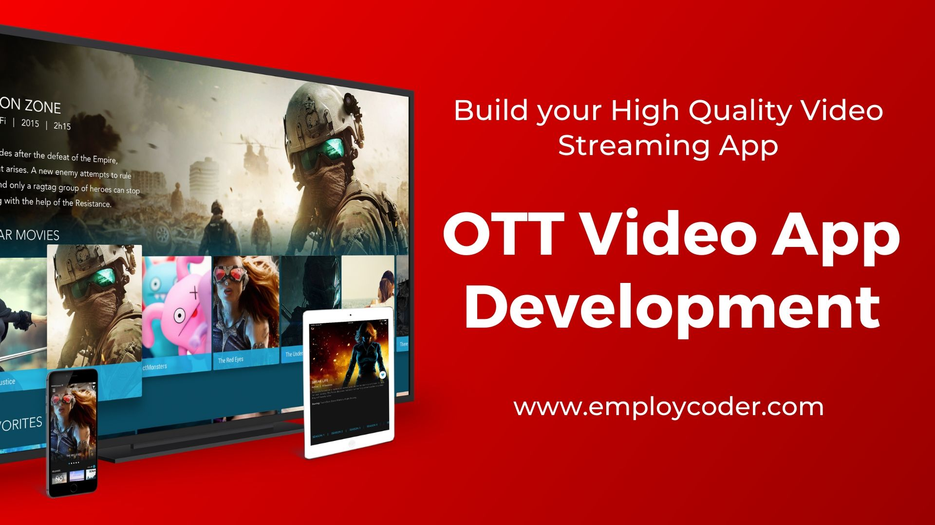 OTT Video App Development Company - Employcoder