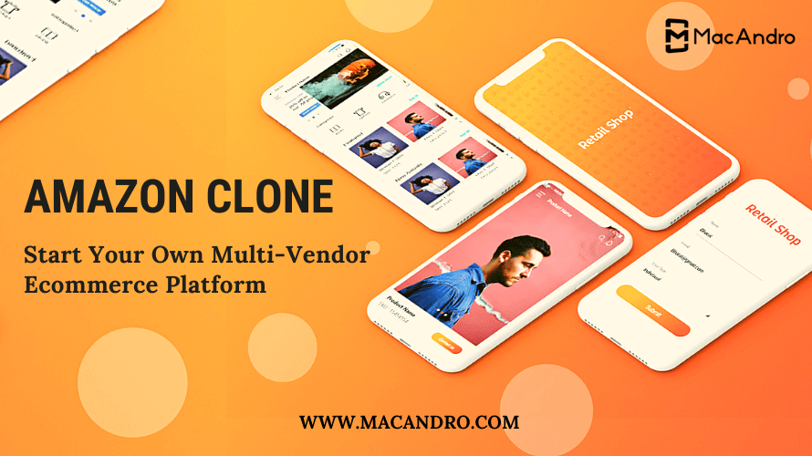 Amazon Clone - An Artistic multi Vendor E-commerce script for online business