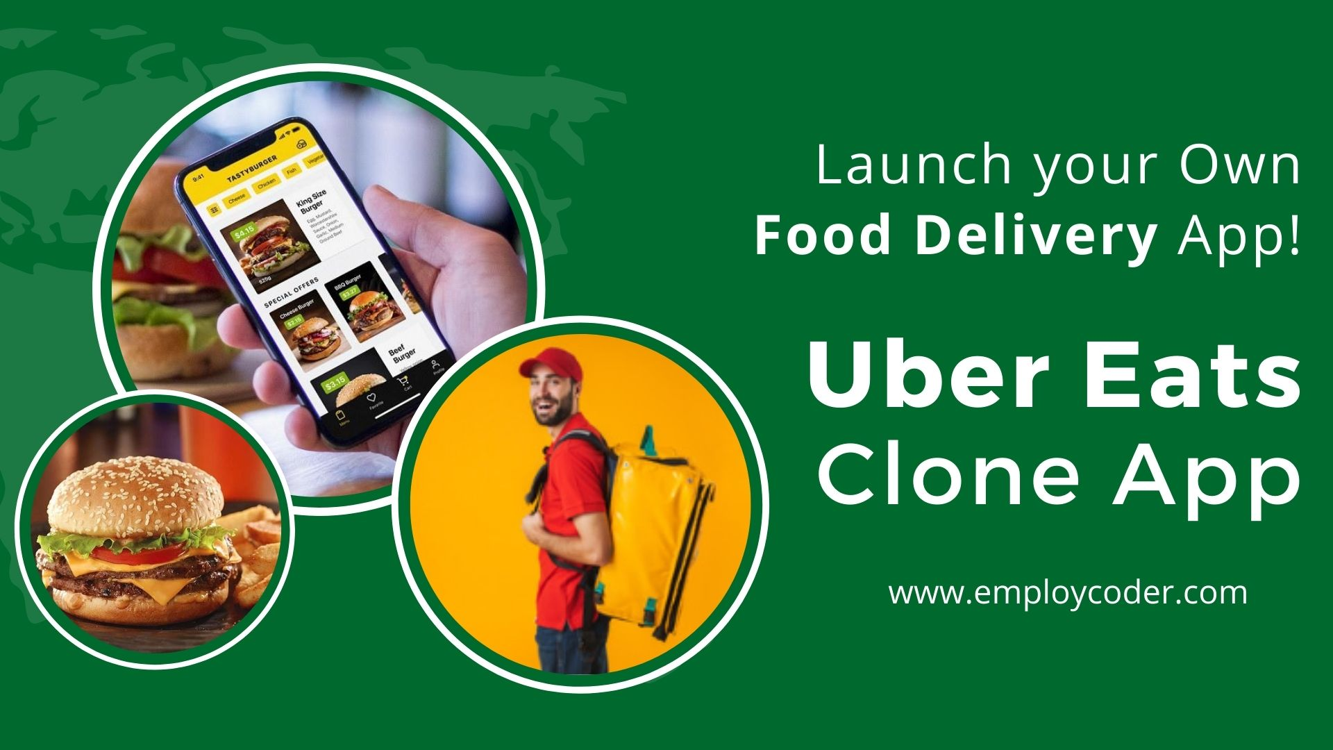 Launch Your Own Food Delivery App - UberEats Clone