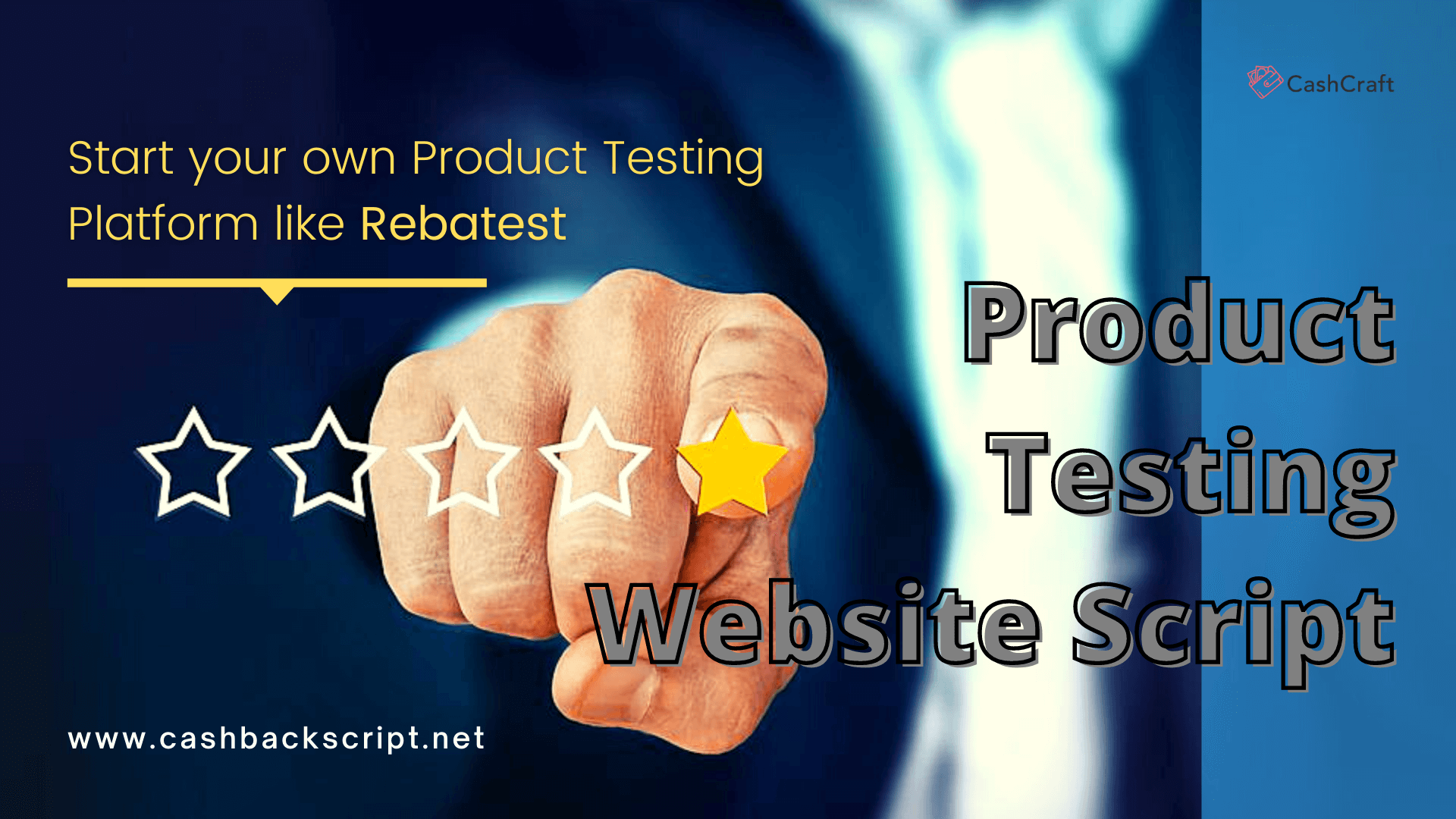 Start your own Product testing Platform like Rebatest