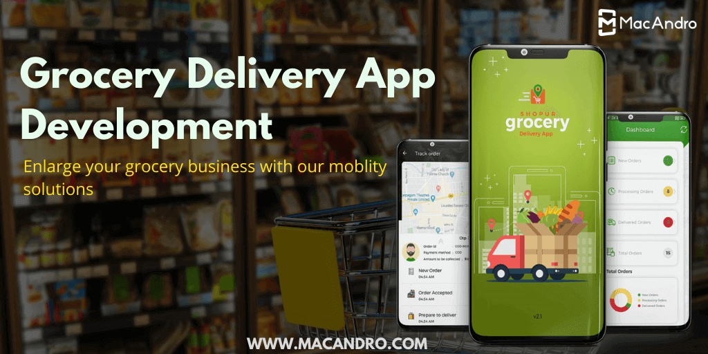 Grocery Delivery App Development For SuperMarkets and Local Grocery Vendors