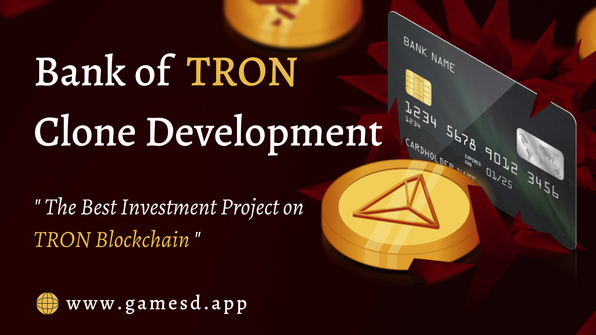 Bank of TRON Clone - To Build DEX Smart Contract Investment Platform on TRON Blockchain