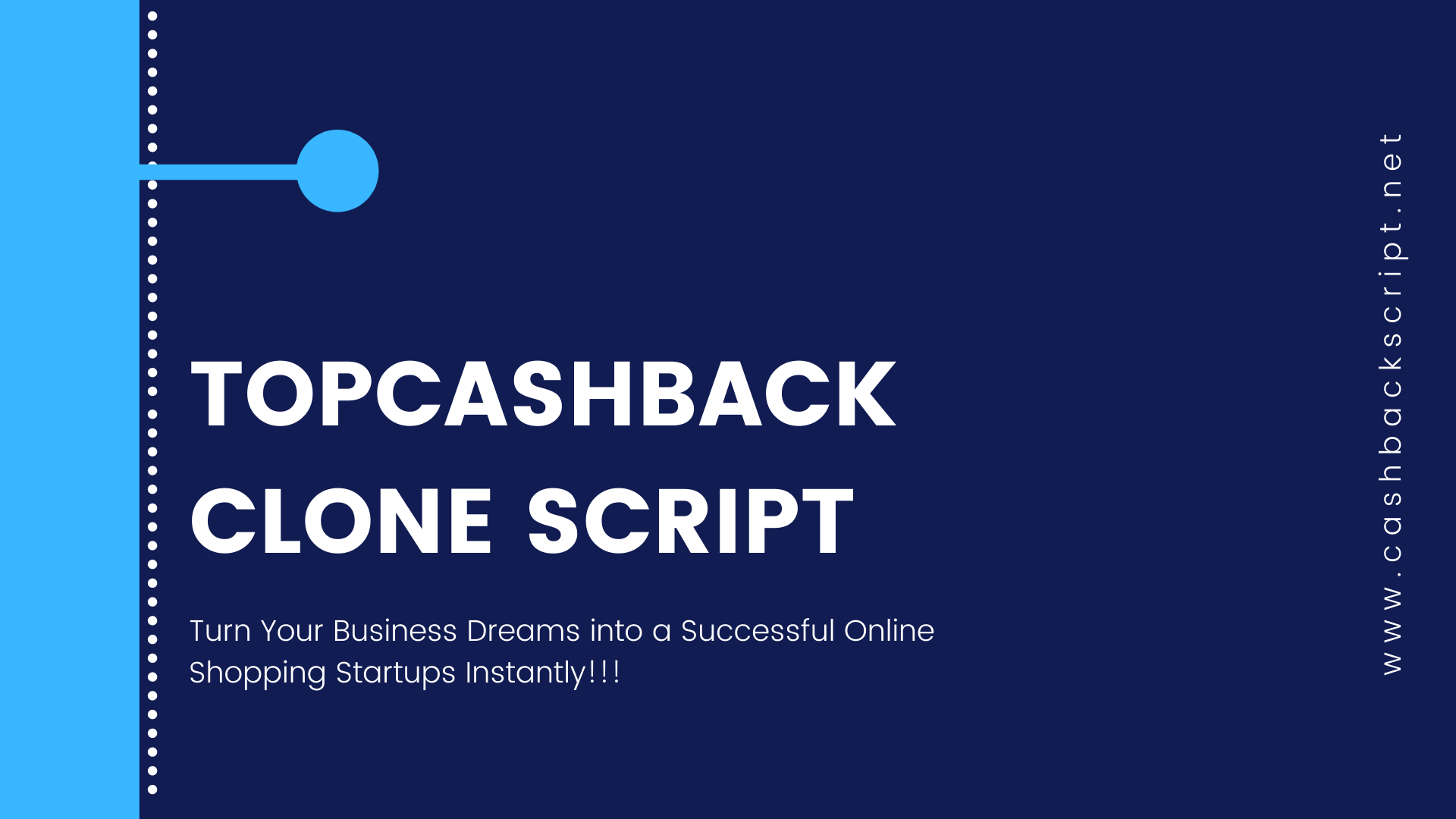 TopCashback Clone Script to Launch your own Cashback Platform like TopCashback