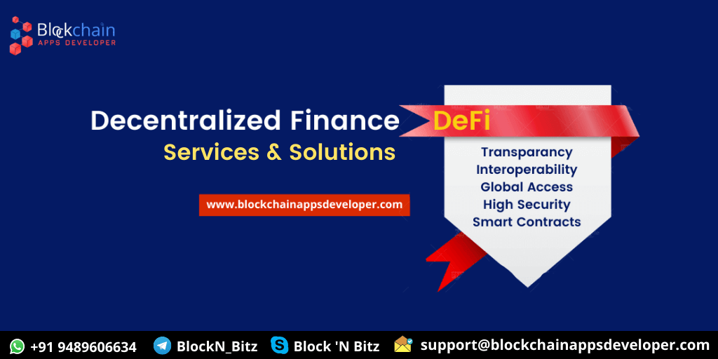 Decentralized Finance DeFi Development Services & Solutions