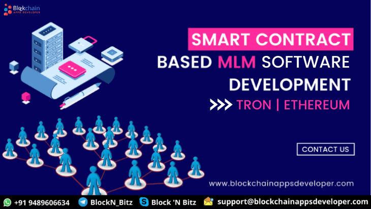 Smart Contract MLM Script Software Development on TRON and Ethereum Network