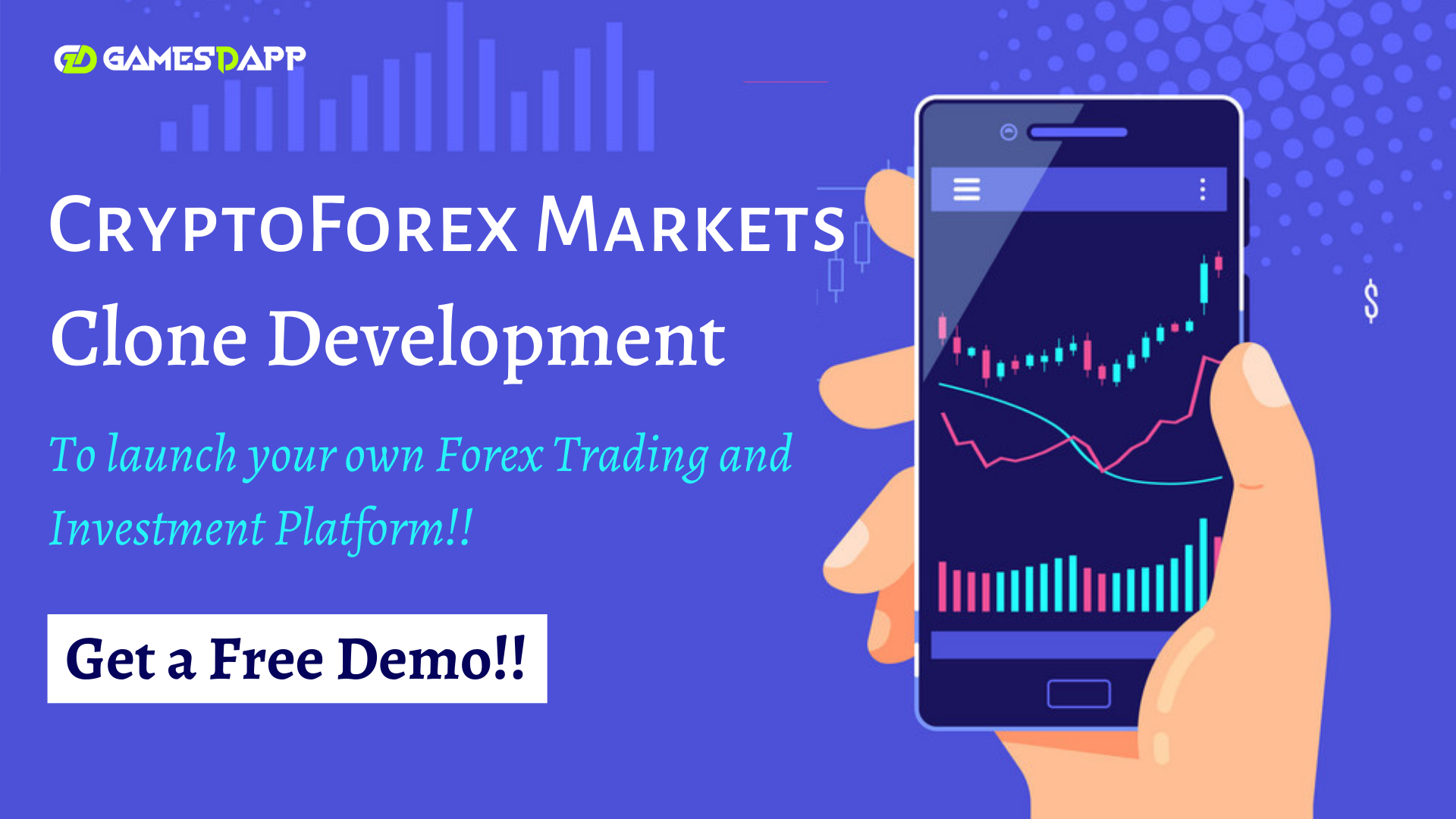 CryptoForexmarkets Clone Development - To launch your own Forex Trading and Investment Platform