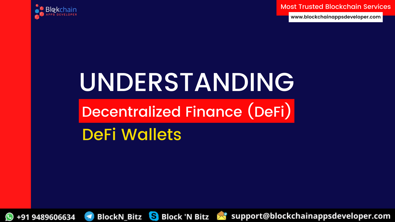 DECENTRALIZED FINANCE (DEFI) WALLET DEVELOPMENT COMPANY | THE MAJOR ROLE OF DEFI IN CRYPTOCURRENCY WALLET DEVELOPMENT