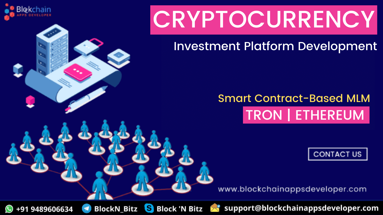 WHY DO YOU NEED TO DEVELOP A SMART CONTRACT-BASED MLM & INVESTMENT PLATFORM ON ETHEREUM / TRON NETWORK?