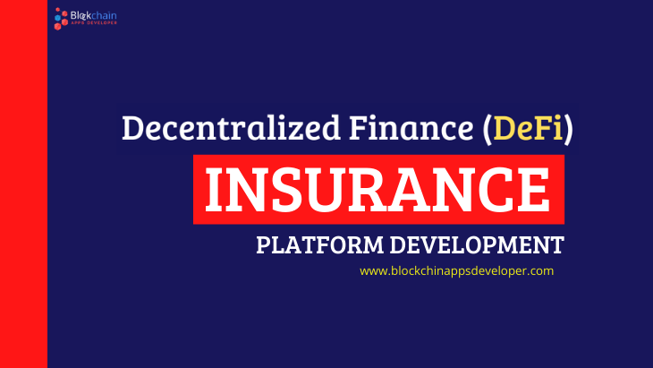 DEFI INSURANCE PLATFORM DEVELOPMENT COMPANY | RE-DEFINING YOUR TRADITIONAL INSURANCE PLATFORM WITH DEFI